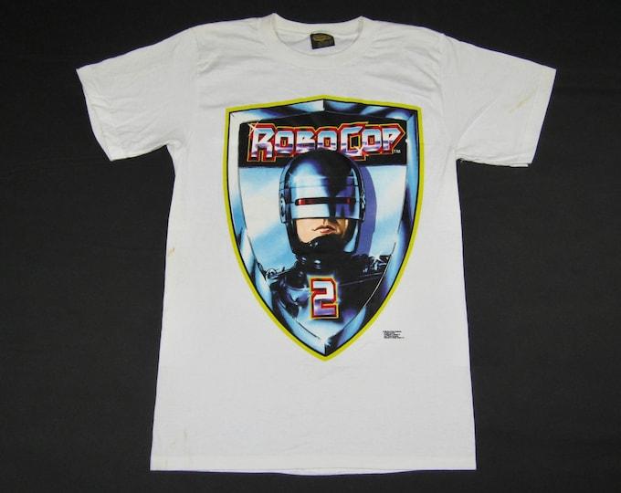 XL * NOS vtg 90s 1990 Robocop 2 movie promo t shirt * 39.179 vhs