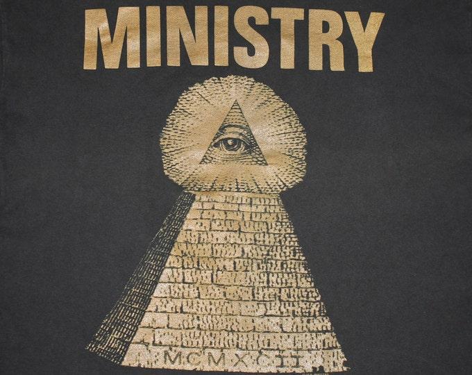 XL * vtg 90s 1991 Ministry psalm 69 t shirt * 51.139