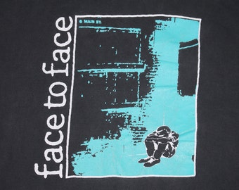 XL/XXL * vtg 90s Face To Face don't turn away t shirt * punk dr strange records fat wreck chords * 3.182