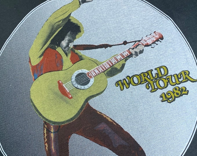 S * nos vtg 80s 1982 Neil Diamond tour t shirt * 9.161