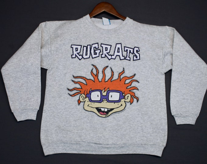 S * NOS vtg 90s 1998 Rugrats Movie nickelodeon crewneck sweatshirt * shirt * 22.158
