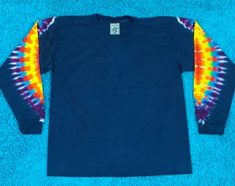 M * nos vtg 90s tie dye t shirt * 24.187 * single stitch