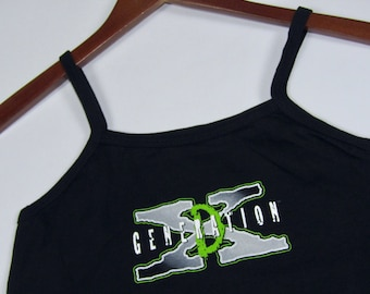 XXS * NOS vtg 90s D Generation X camisole tank top t shirt * WWF Wrestling wwe