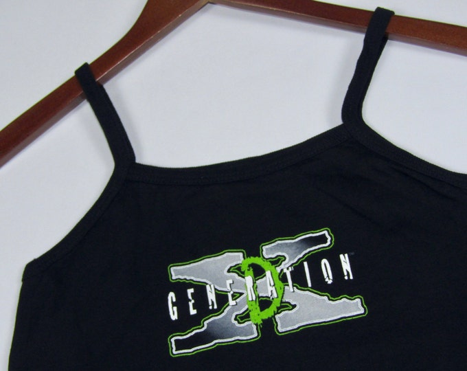 XXS * NOS vtg 90s D Generation X camisole tank top t shirt * WWF Wrestling wwe