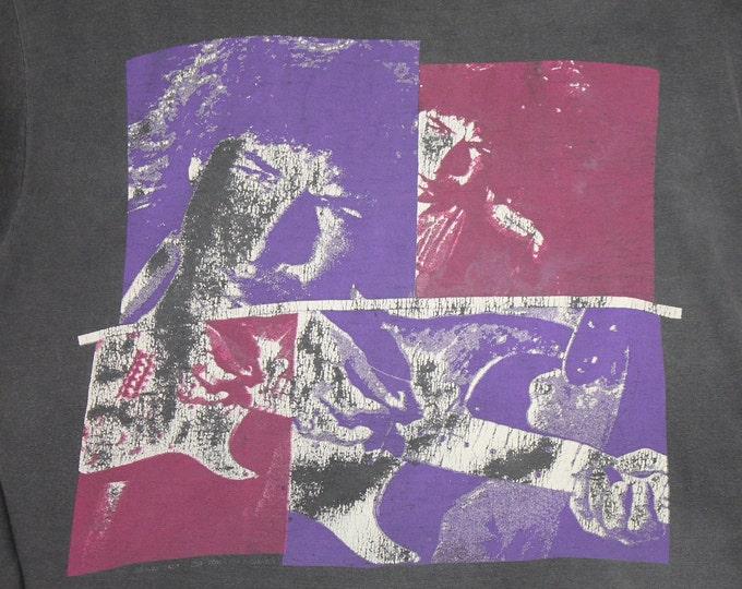 M * faded vtg 80s 1988 Bob Dylan tour t shirt * 107.6