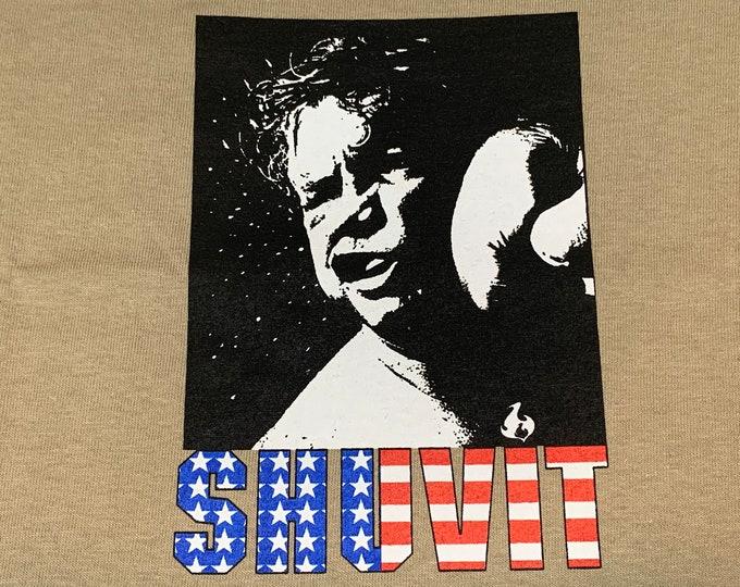 M * nos vtg late 90s / early y2k SHUVIT skateboard t shirt * 52.178