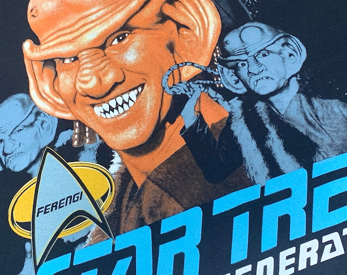 L * nos vtg 90s 1991 Star Trek the next generation Ferengi