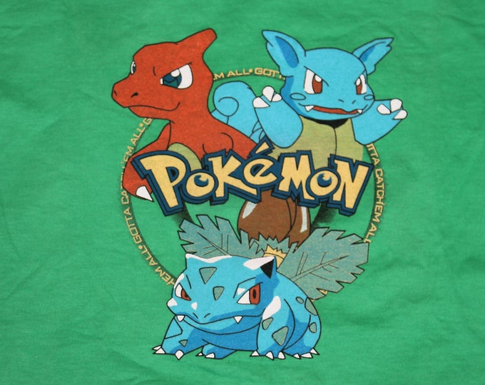 S * NOS vtg 90s Pokemon gotta catch em all t shirt * 41.176