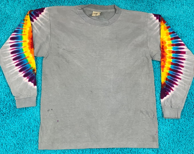 M * nos vtg 90s tie dye t shirt * single stitch * 62.171