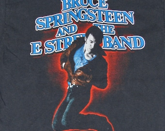 S * vtg 80s 1984 1985 Bruce Springsteen born in the usa tour t shirt * 36.168
