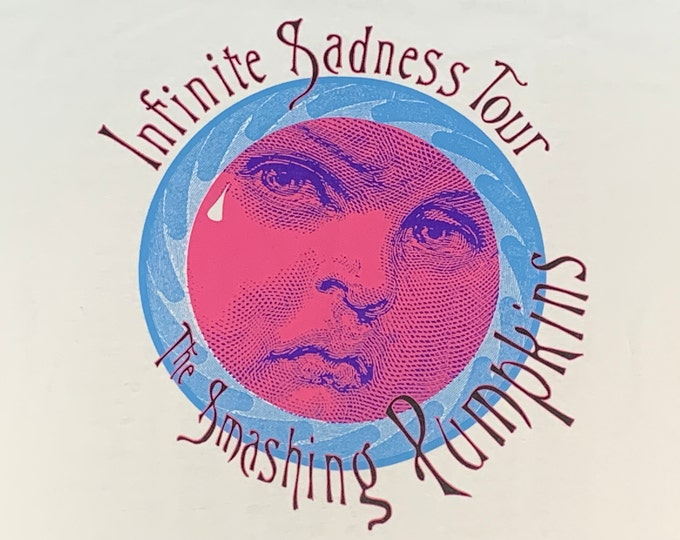 XL * NOS vtg 90s 1996 the Smashing Pumpkins infinite sadness tour t shirt * 92.46