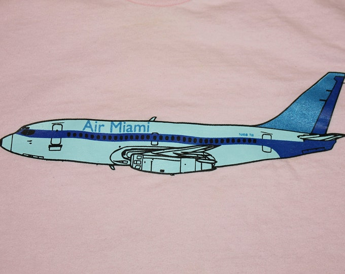 XL * vtg 90s Air Miami teen beat records t shirt * 63.175