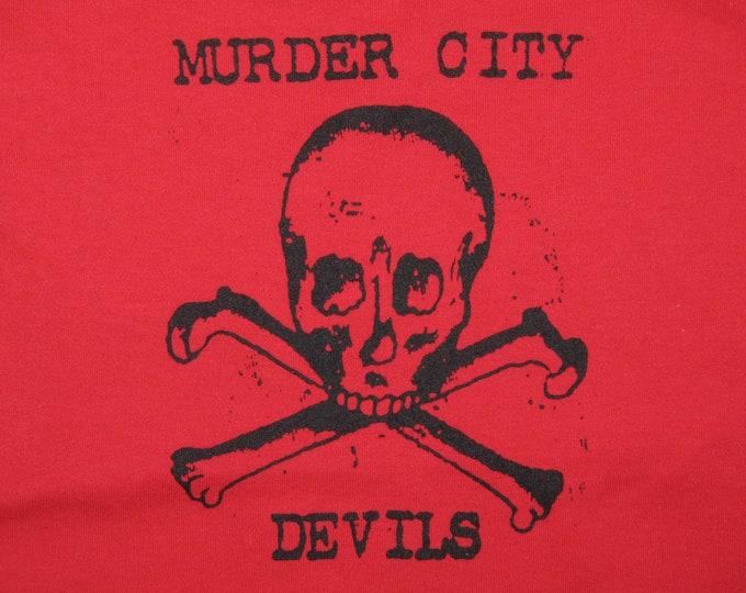 womens S * nos vtg 90s Murder City Devils spaghetti strap camisole shirt * tank top