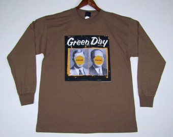 XL * NOS vtg 90s 1998 Green Day nimrod long sleeve tour t shirt * GDS/3.189
