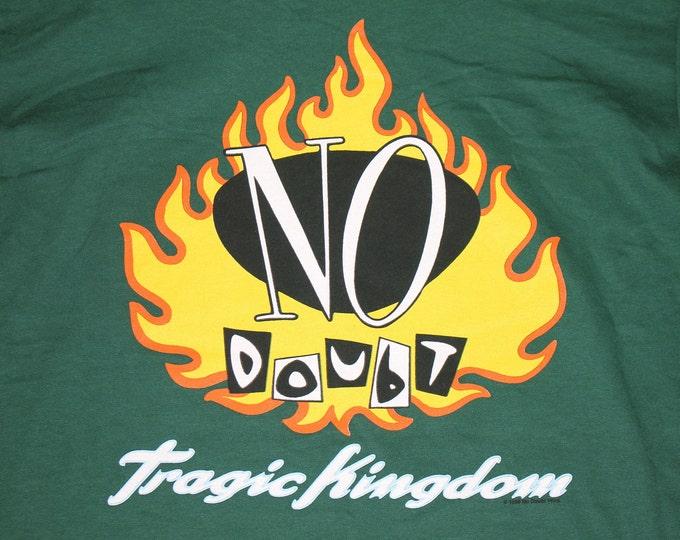 L * NOS vtg 90s 1996 No Doubt tragic kingdom t shirt