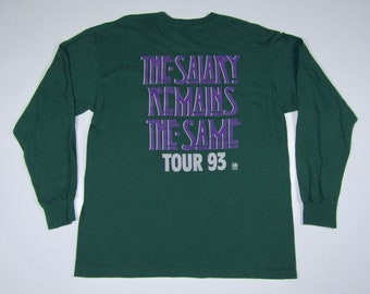 XL * vtg 90s 1993 the Gin Blossoms long sleeve tour t shirt * new miserable experience hey jealousy * 7.171