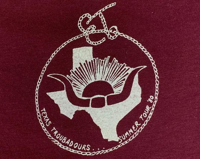 M * vtg 80s 1980 Ernest Tubb classic country music tour t shirt jersey * 50.151