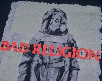 XL * vtg 90s 1994 Bad Religion stranger than fiction tour t shirt * punk concert * 6.180