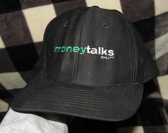 NOS vtg 90s 1997 Money Talks chris tucker charlie sheen movie promo snapback hat
