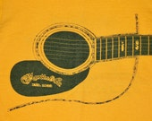 XS vtg 70s 1977 Martin Co Flatpicking Championship winfield kansas t shirt country bluegrass 105.24