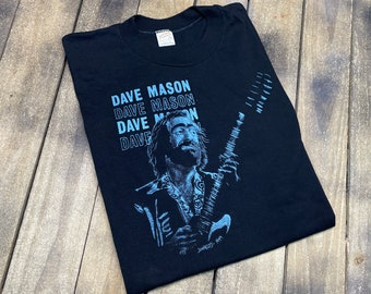 M * vintage 1980 Dave Mason live in florida t shirt * Traffic Steve Winwood * 36.178