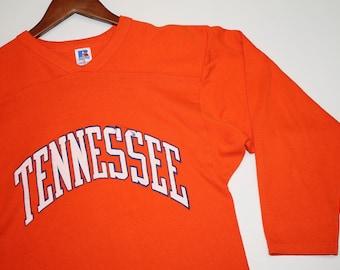 S * vtg 80s Tennessee Vols jersey shirt * volunteers * 10.168