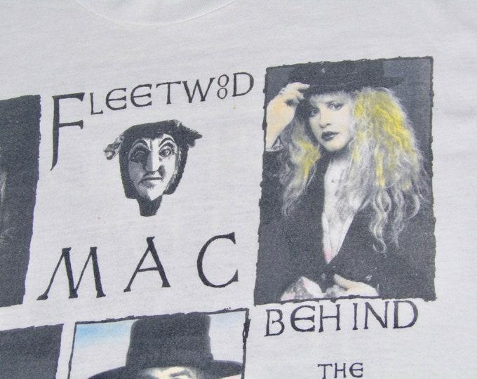 M * vtg 90s 1990 Fleetwood Mac behind the mask tour t shirt * 44.185