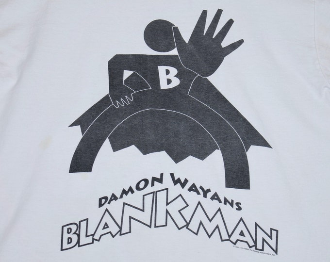 M/L * vtg 90s 1994 Blankman damon wayans movie t shirt * medium large rap