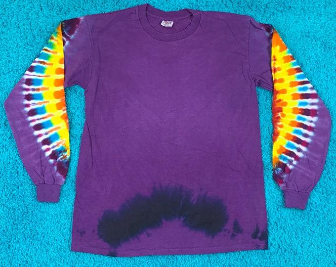 L * nos vtg 90s tie dye t shirt * 48.160