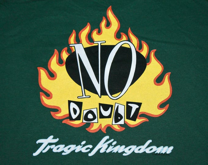 XL * NOS vtg 90s 1996 No Doubt Tragic Kingdom t shirt * NDG