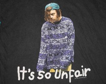 L/XL * vtg 90s 1994 Kevin The Teenager bbc tv show t shirt * grunge * 56.148