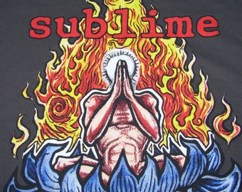 XXL * NOS vtg 90s Sublime t shirt * punk ska
