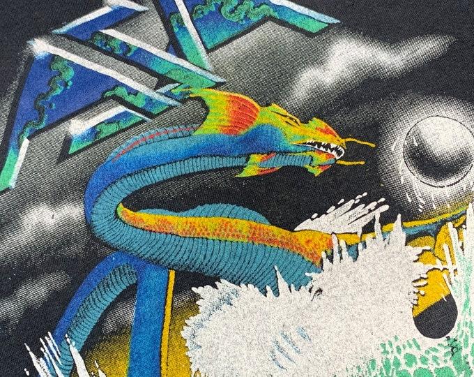 S * vtg 80s 1983 ASIA tour t shirt * prog rock concert * 29.193