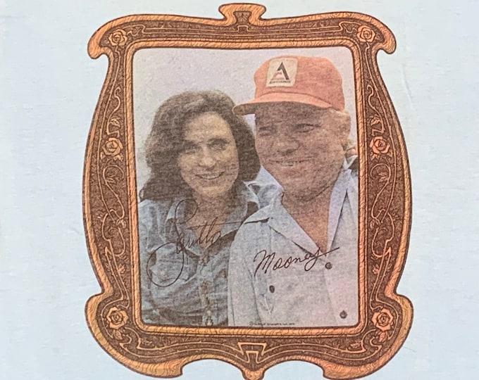S * NOS vtg 70s 1979 Loretta Lynn and Mooney licensed t shirt * 107.32