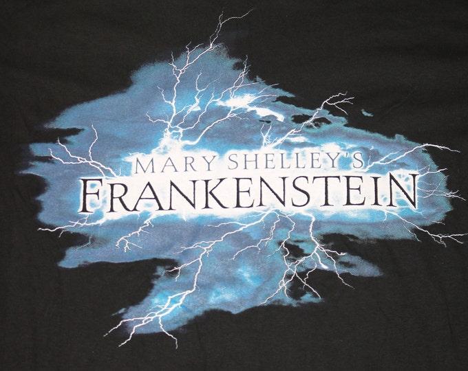 XL * NOS vtg 90s 1994 mary shelley's Frankenstein movie t shirt * horror promo * 40.151