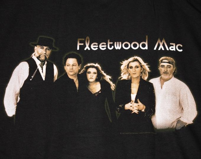 L * NOS vtg 90s 1997 Fleetwood Mac tour t shirt * 105.3