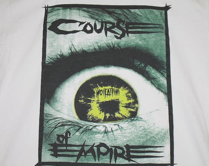 XL * vtg 90s 1994 Course Of Empire initiation t shirt * 101.25