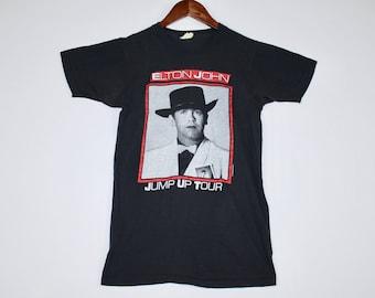 XS * vtg 80s 1982 Elton John tour t shirt * 24.180