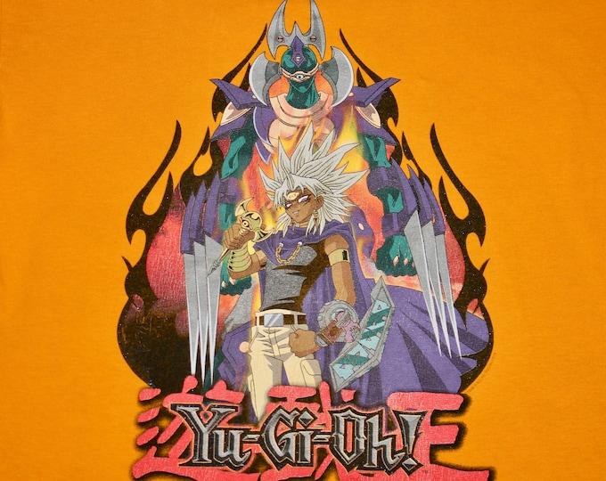 M * vtg 90s 1996 YuGiOh tie dye t shirt * manga anime game tv show movie comic * 40.149
