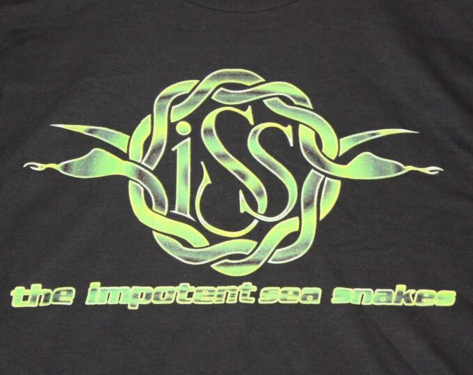 XXL * NOS vtg 90s Impotent Sea Snakes t shirt * 102.8