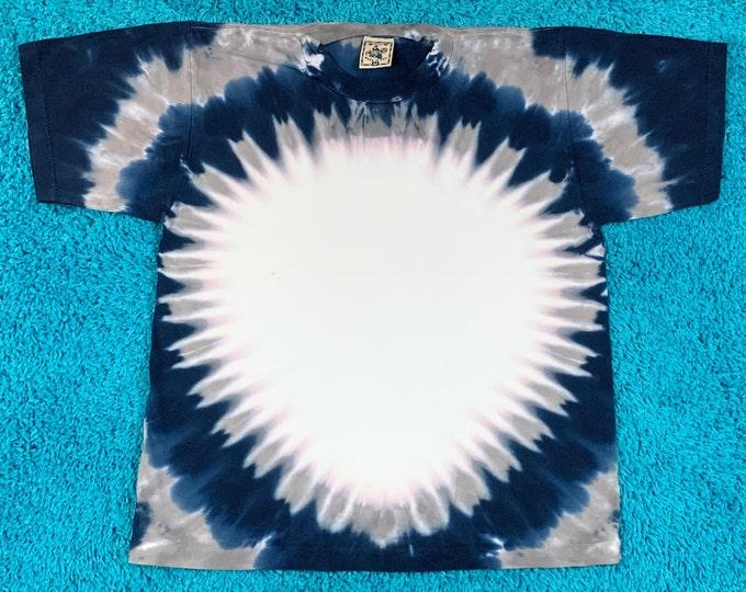 M * nos vtg 90s tie dye single stitch t shirt * 76.142