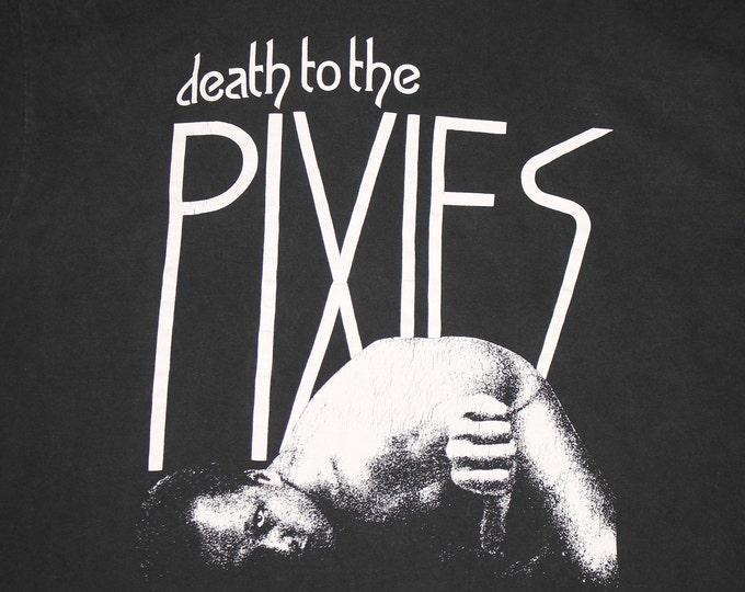 XL * vtg 90s single stitch Death To The PIXIES t shirt * 105.7
