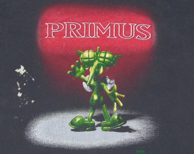 XL * vtg 90s 1991 Primus t shirt * 12.182 miscellaneous debris art