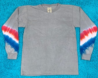 S * nos vtg 90s tie dye t shirt * single stitch * 48.155