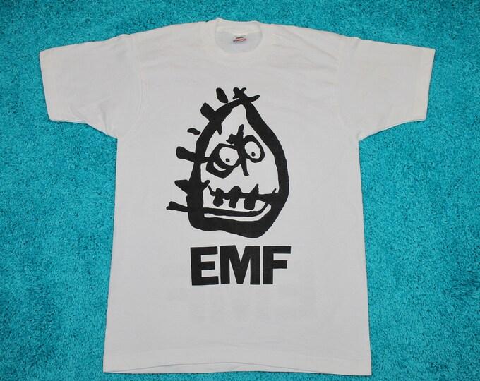 M/L * NOS vtg 90s EMF Schubert Dip tour t shirt * medium large * 37.131