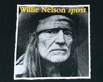 XL * vtg 90s 1996 Willie Nelson spirit t shirt * 30.160