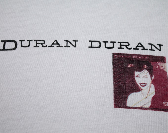 S * NOS vtg 80s 1982 Duran Duran rio promo t shirt * 99.6