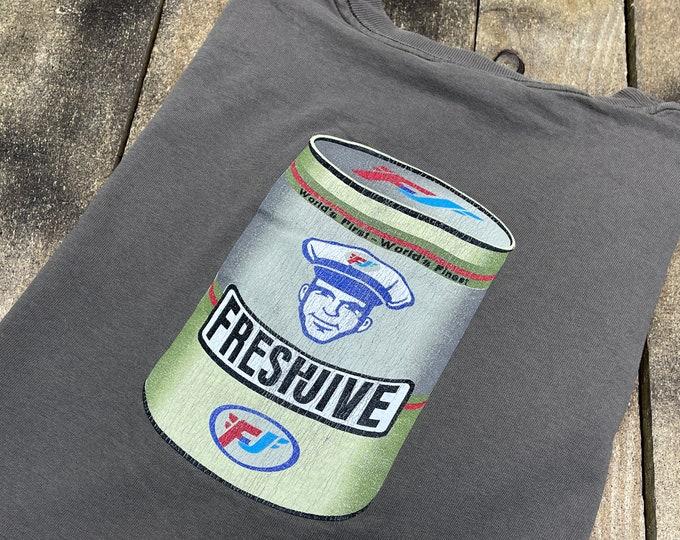 XL * vintage 90s FRESHJIVE t shirt * single stitch usa streetwear rave skateboard * 51.165