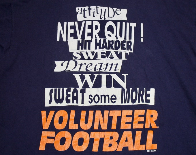 XL * vtg 90s Tennessee Vols t shirt * volunteers * 9.151