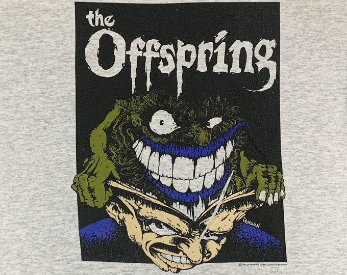 XL * vtg 90s 1994 The Offspring smash t shirt * punk * 93.52